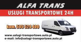 Transport towarowy Taxi bagażowe Przeprowadzki Bagażówka VAT
