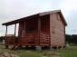Domek drewniany o pow 25m2+poddasze użytkowe +taras zadaszony 10m2, 2