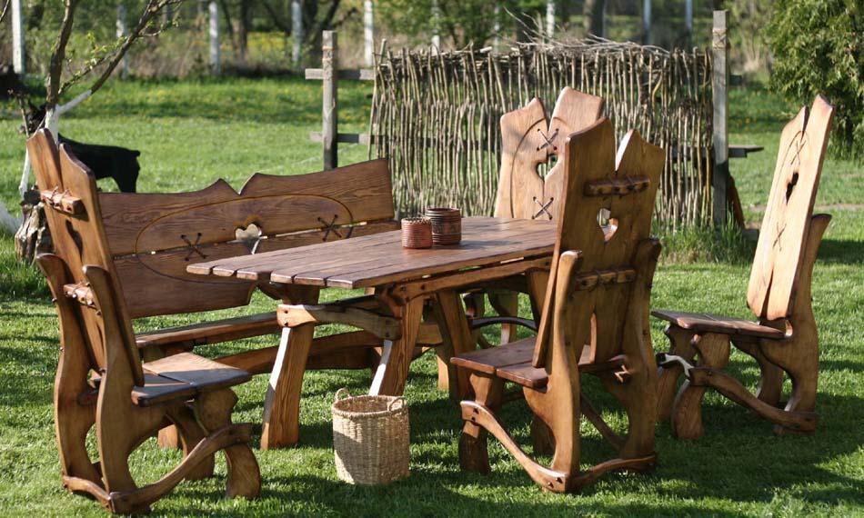 Meble Ogrodowe Tarasowe Balkonowe Z Drewna Szczuczyn