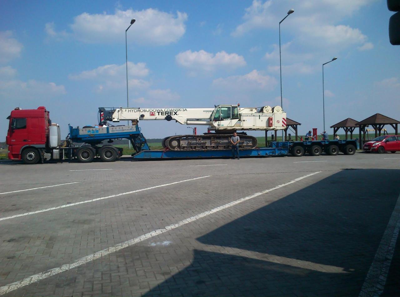 Poważnie Transport Ponadgabarytowy Niskopodwoziowy Maszyn MAŁOPOLSKA VY19