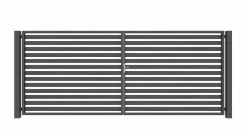 Dwuskrzydłowa brama panelowa Joniec COMO