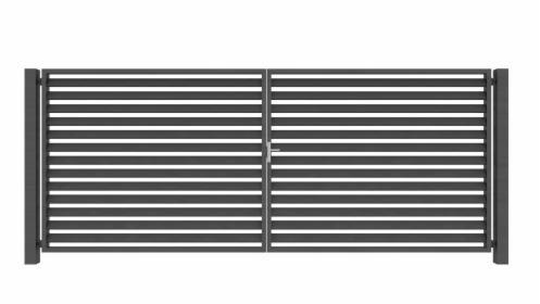 Brama dwuskrzydłowa panelowa Joniec VERO