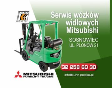 Serwis wózków widłowych Mitsubishi - Cały kraj