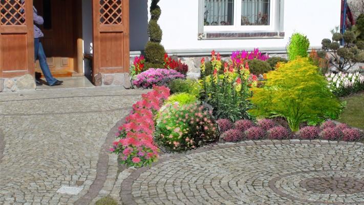 Projekty ogrodów, tarasów, balkonów, terenów zielonych ...