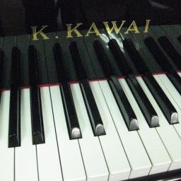 Czarny Fortepian Kawai, dł. 153cm