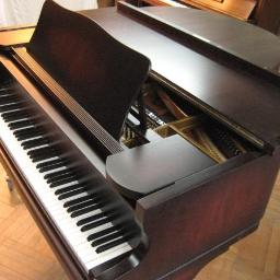 Fortepian Rich. Lipp & Sohn, dł. 155cm