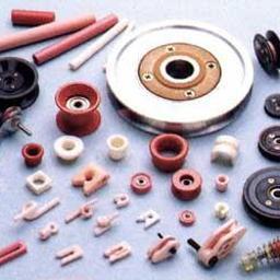 Rolki prowadzące, koła pasowe, elementy ceramiczne