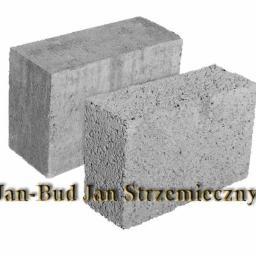 Bloczek betonowy 12 x 24 x 38 - 3 zł. szt. cena brutto PRUSZKÓW
