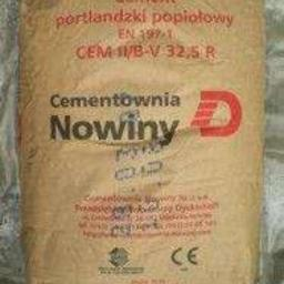 Cement Nowiny II - 410 zł brutto za tonę