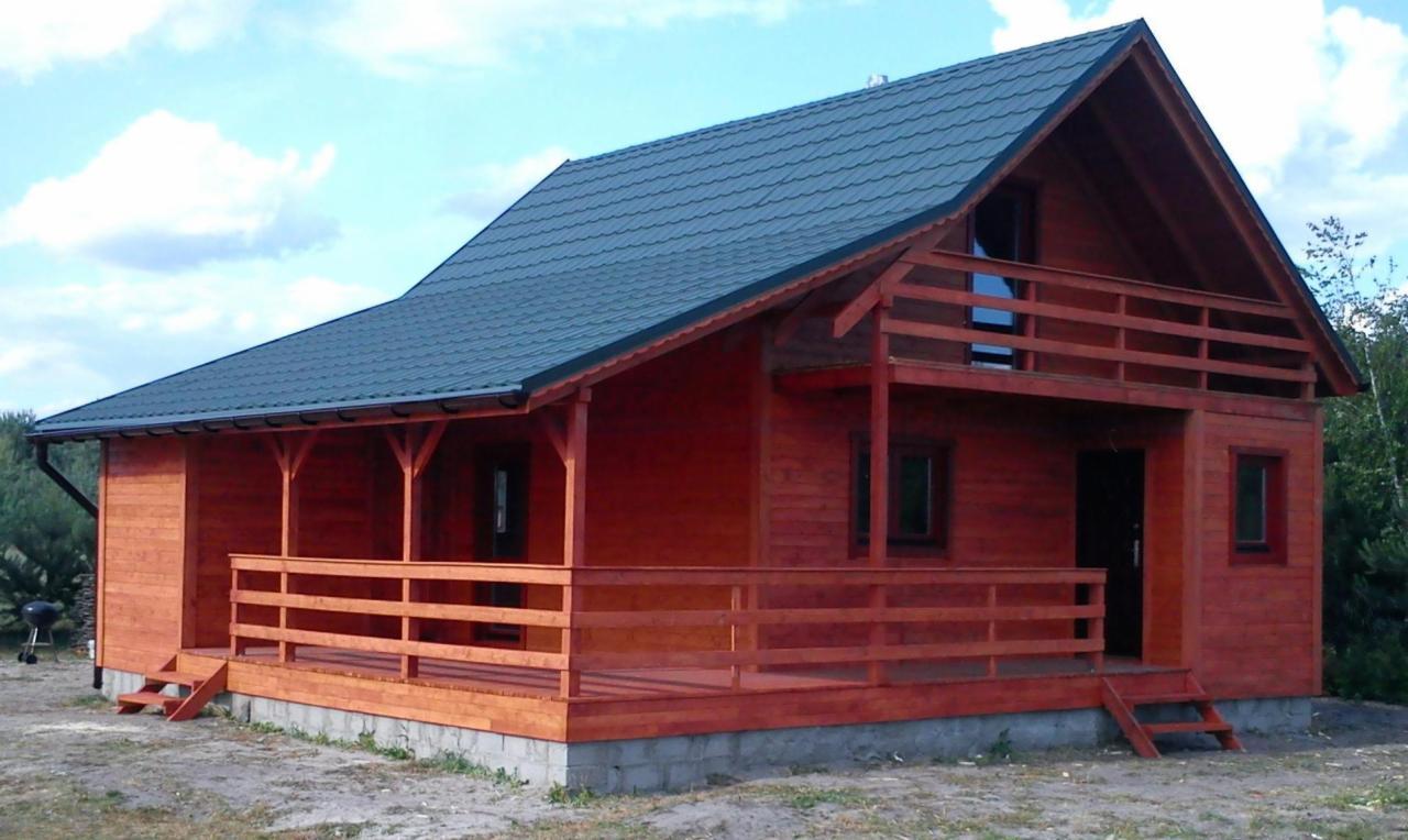 6c6ea38b23311f Domy drewniane letniskowe całoroczne z drewna -TCL (110.5m2) domy z drewna  mieszkalne