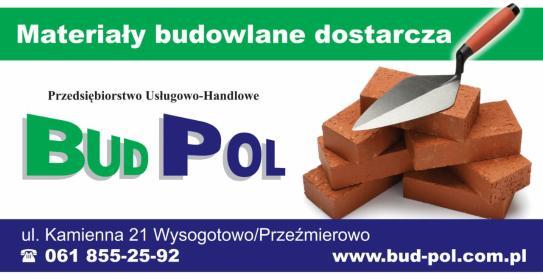 PHU BUD-POL s.c. Cezary Bąk Michał Bąk - Dostawcy płyt G-K Przeźmierowo