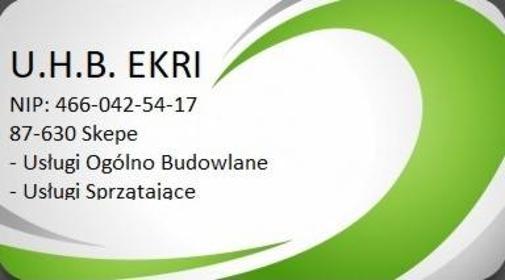 Usługi Handlowo Budowlane EKRI - Mycie okien Skępe