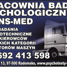 Pracownia Badań Psychologicznych TRANS-MED Aleksandra Wróblewska - Medycyna pracy Strzałków
