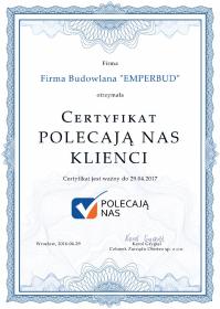 """Firma Budowlana """"EMPERBUD"""" - Szpachlowanie Łososina Dolna"""