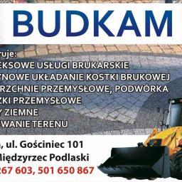 BUDKAM Kamil Muszyński - Roboty ziemne Międzyrzec Podlaski
