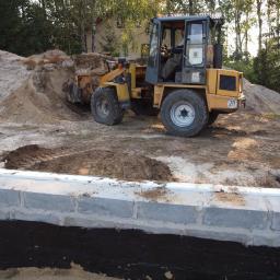fundamenty budowanego domu