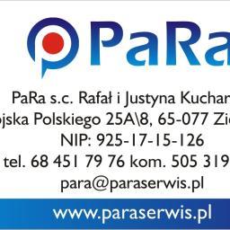 PaRa S.C. Rafał i Justyna Kucharscy - Serwis sprzętu biurowego Zielona Góra