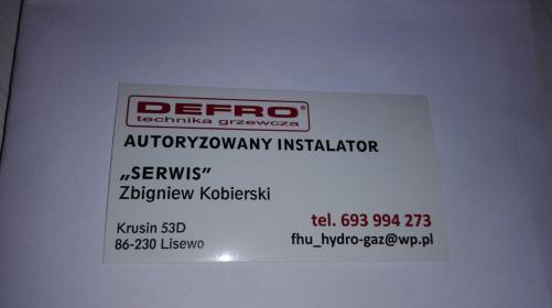 F.H.U Hydro-Gaz i C.O. - Monter Instalacji Sanitarnych Lisewo