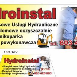 Hydroinstal - Instalacje sanitarne Łask
