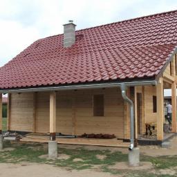 Domy z bali Aleksandrów Łódzki 34