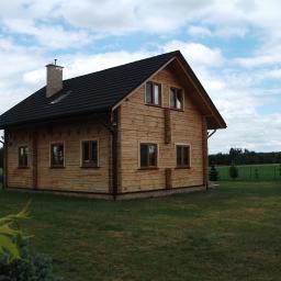 Domy z bali Aleksandrów Łódzki 84