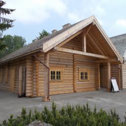 Domy z bali Aleksandrów Łódzki 91