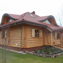 Domy z bali Aleksandrów Łódzki 62