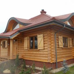 Domy z bali Aleksandrów Łódzki 61