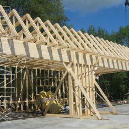 więźba dachowa, więźby dachowe, prefabrykowana więźba dachowa