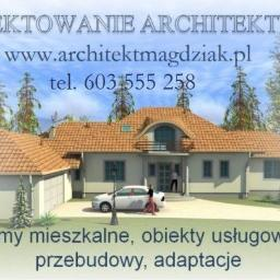 PROJEKTOWANIE ARCHITEKTURY arch. Małgorzata Magdziak-Błaszczyk - Architekt Łódź