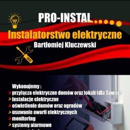 PRO-INSTAL Bartłomiej Kluczewski - Instalatorstwo Elektryczne Olkusz