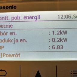 Panasonic Aquarea, COP 6,83 - www.TanioGrzej.pl