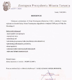 """Firma Mykologiczno-Budowlana """"Ciak"""" - Konserwator zabytków Toruń"""