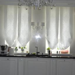 kuchnia dębowa lakierowana - styl angielski