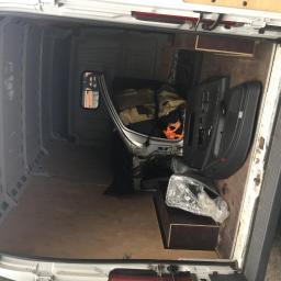 Transport ćwiartki auta + boczki do drzwi.