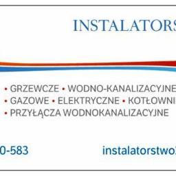 INSTALATORSTWO - Instalacje grzewcze Czarnocin