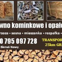 PROMEX Grzegorz Bajek - Drewno Kominkowe Bieruń