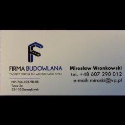 """Firma Budowlana """"SYSTEM"""" Mirosław Wronkowski - Zbrojarz  Damasławek"""