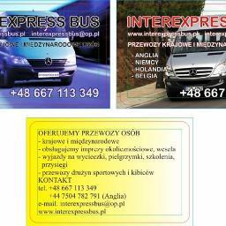 INTEREXPRESS BUS - Przewóz osób Głubczyce