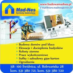 """""""MAD-NES"""" Systemy Budowlane Sp. z o.o. - Firmy budowlane Świdnica"""