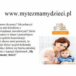 """Agencja opiekunek, niań i gospoś """"My też mamy dzieci.pl"""" - Usługi Mycia Okien Piaseczno"""
