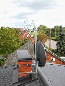 Z.H.U. MASZ-SAT - Ustawienie Anteny Satelitarnej Gąbin