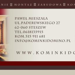 DOMINO PAWEŁ MIESZAŁA - Kominki z Kamienia Stęszew