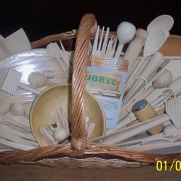 Wyroby z drewna do kuchni