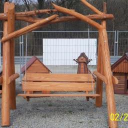 Budowa placów zabaw , altanek i domków z drewna