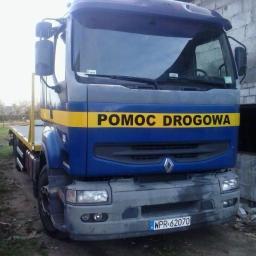 DIGGER-TRANS Paweł Jakubiak - Transport ciężarowy krajowy Nadarzyn