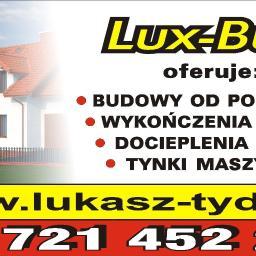 """Usługi Remontowo-Wykończeniowe """"Lux-Bud"""" - Murowanie ścian Choceń"""