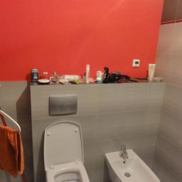 Zabudowa stelaża WC i bidetu