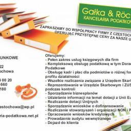 Biuro Rachunkowe Gałka & Rocker - Kancelaria Doradztwa Podatkowego Częstochowa