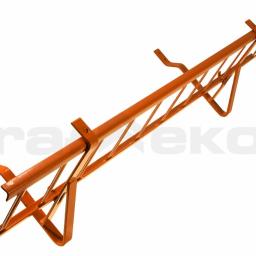 Płotki przeciwśniegowe do dachówek ceramicznych, betonowych, pokryć płaskich oraz blachodachówek